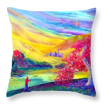 The Calling Throw Pillow by Jane Small