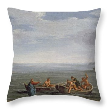 The Calling Of St. Peter And St Throw Pillow