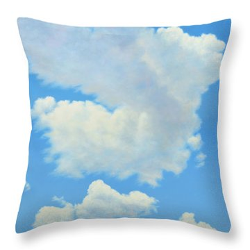The Cardinal Throw Pillow by James W Johnson