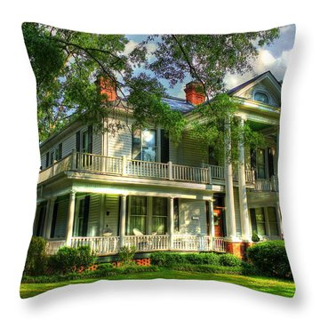 A Southern Bell The Carlton Home Art Southern Antebellum Art Throw Pillow