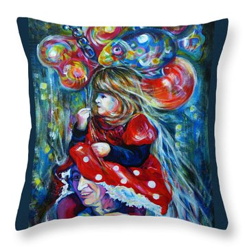 The Carnival Little Princess Throw Pillow