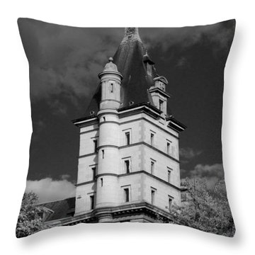 Throw Pillow featuring the photograph The Castle by Ivete Basso Photography