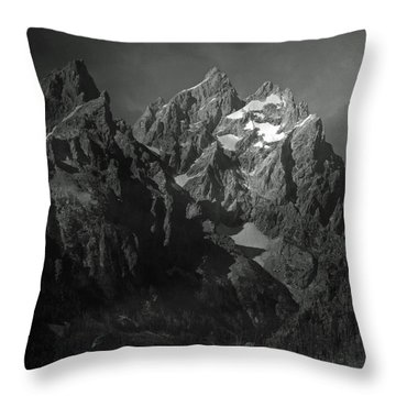 The Cathedral Group Throw Pillow by Raymond Salani III