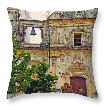 The Cathedral Of Leon Throw Pillow