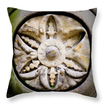 The Central Park Medallion Throw Pillow by Lisa Russo