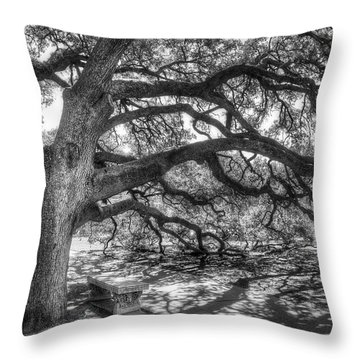 Oaks Throw Pillows
