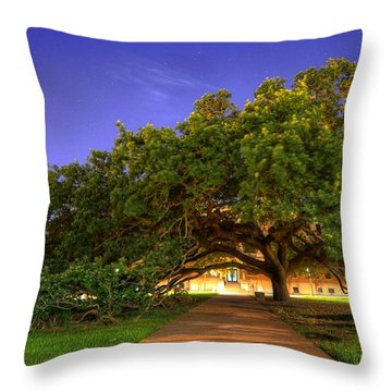 The Century Tree Throw Pillow