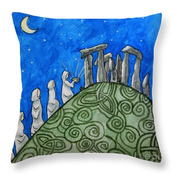 The Ceremony Throw Pillow by Whitney Morton