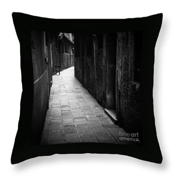 The Chair Throw Pillow by Prints of Italy