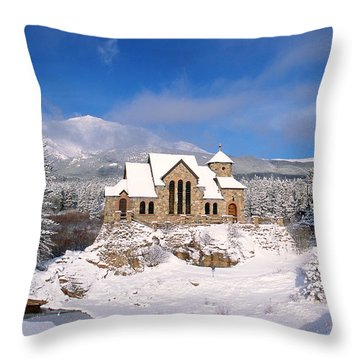 The Chapel On The Rock 3 Throw Pillow