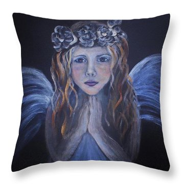 The Child Within Throw Pillow by The Art With A Heart By Charlotte Phillips