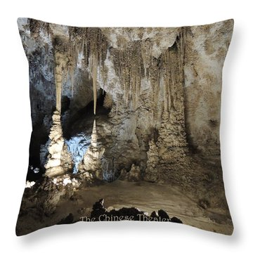 Throw Pillow featuring the photograph The Chinese Theater by Jayne Wilson