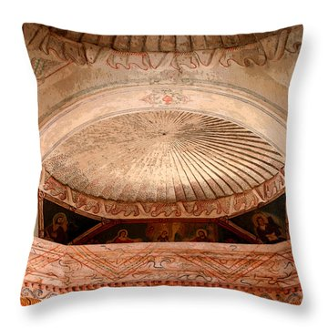 The Choir Loft Throw Pillow by Joe Kozlowski