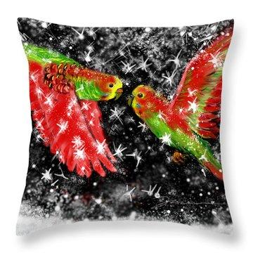 The Christmas Keets Throw Pillow