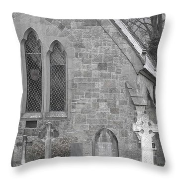 Throw Pillow featuring the photograph The Church 2 by Christopher Rowlands