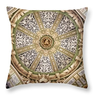 The Church San Juan Del Hospital Of The Orden Opus Dei In Valencia. Throw Pillow by For Ninety One Days