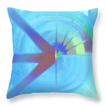The Circular Abstract-2 Throw Pillow