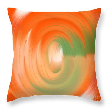 Tricolor Throw Pillow