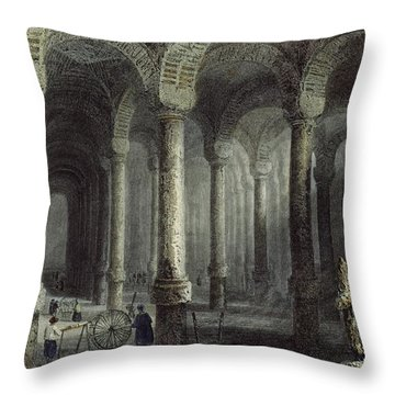 The Cistern Of Bin-veber-direg, Or The Throw Pillow