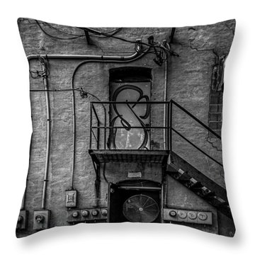 The City Is A Poem  Throw Pillow by Bob Orsillo