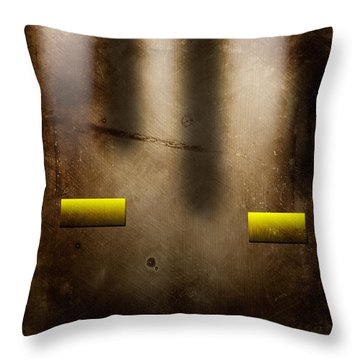 The City Throw Pillow by Peter Tellone