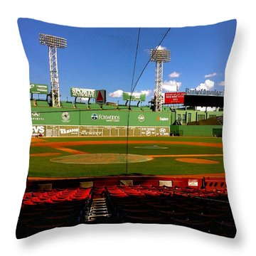 The Classic  Fenway Park Throw Pillow