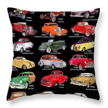 The Fords Shower Curtain Throw Pillow