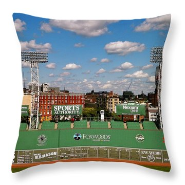 The Classic II Fenway Park Collection  Throw Pillow