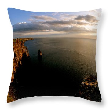 Mountain Sunset Throw Pillows