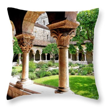 The Cloisters Throw Pillow