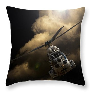 The Cloud Throw Pillow
