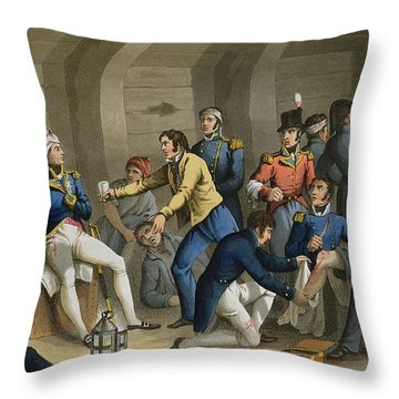 The Cockpit, Battle Of The Nile Throw Pillow
