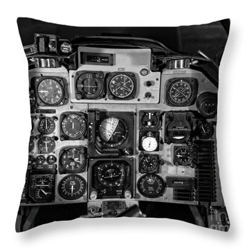 The Cockpit Throw Pillow by Edward Fielding