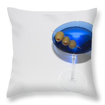 The Cocktail Hour Throw Pillow by Bill Cannon