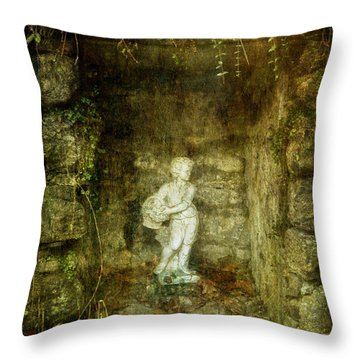 The Cold Flower Boy Throw Pillow