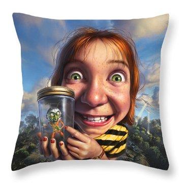 Bug Throw Pillows