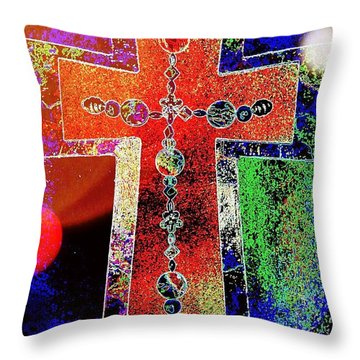 The Color Of Hope Throw Pillow