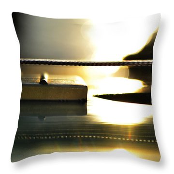 The Color Of Music Throw Pillow