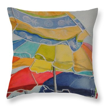 The Colors Of Fun.  Sold Throw Pillow