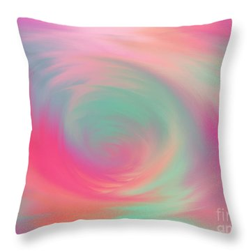 The Colours Of Love Throw Pillow