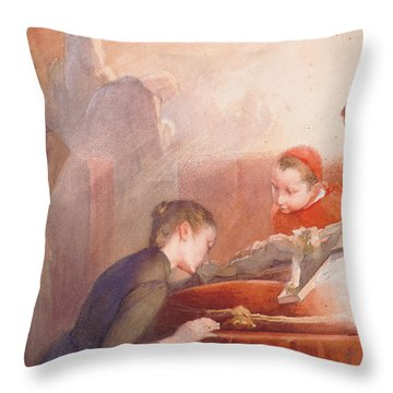 The Confirmation Throw Pillow