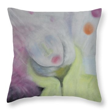 The Confused Throw Pillow