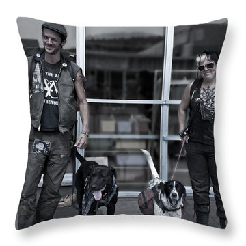 The Conners Throw Pillow by Sandi Mikuse