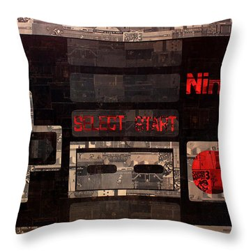 The Controller Throw Pillow