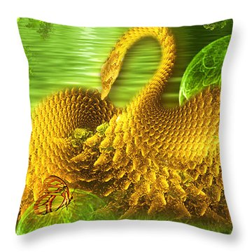 The Conversation - Art For Kids By Giada Rossi Throw Pillow by Giada Rossi