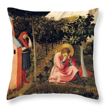 The Conversion Of Saint Augustine Throw Pillow