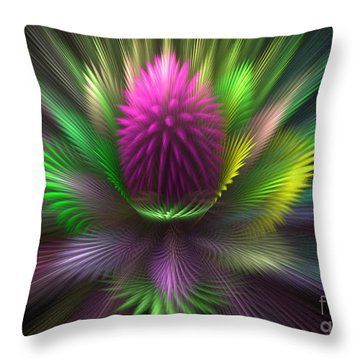 The Core Throw Pillow