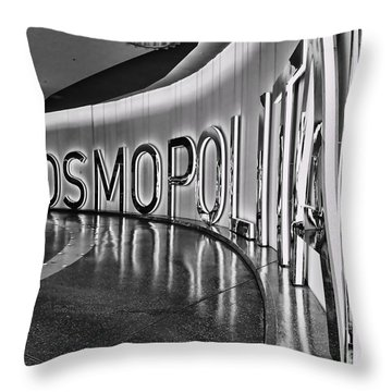 The Cosmopolitan Hotel Las Vegas By Diana Sainz Throw Pillow