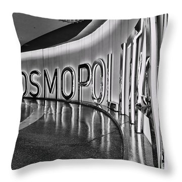 The Cosmopolitan Hotel Las Vegas By Diana Sainz Throw Pillow