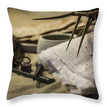 The Cost Of Betrayal Throw Pillow by Amber Kresge